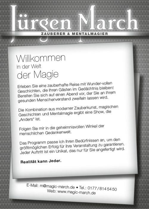 Jürgen March_Zauberer_Text